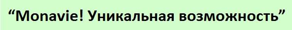 """""""Monavie! Уникальная возможность""""11"""